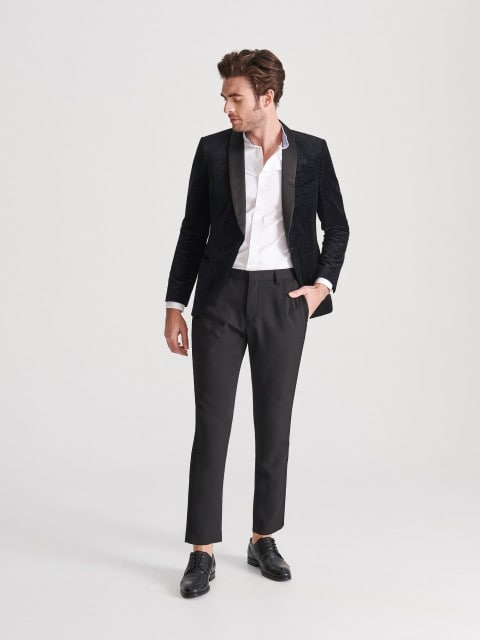 Chino trousers with side stripes
