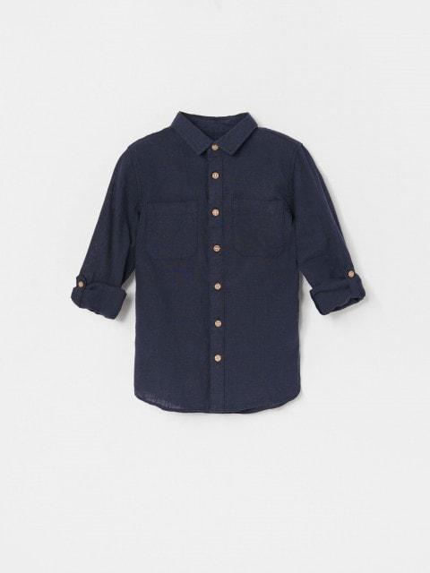 Koszula z lnem