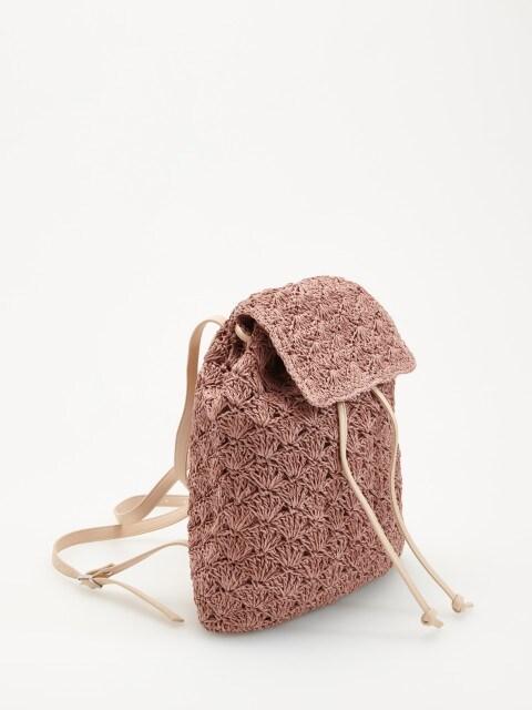Pleciony plecak