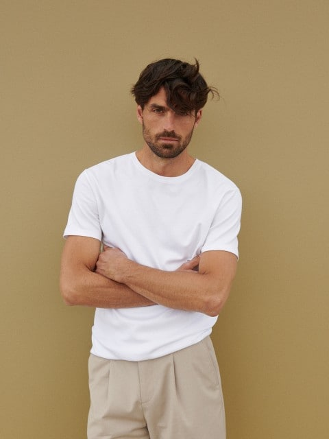 Bawełniana koszulka basic