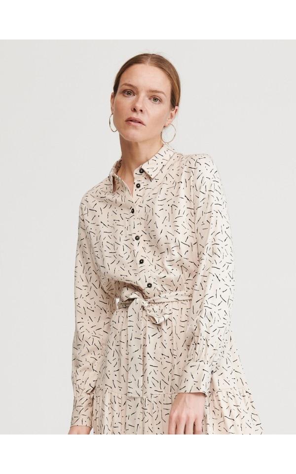 Wzorzysta sukienka, RESERVED, ZK953-01X