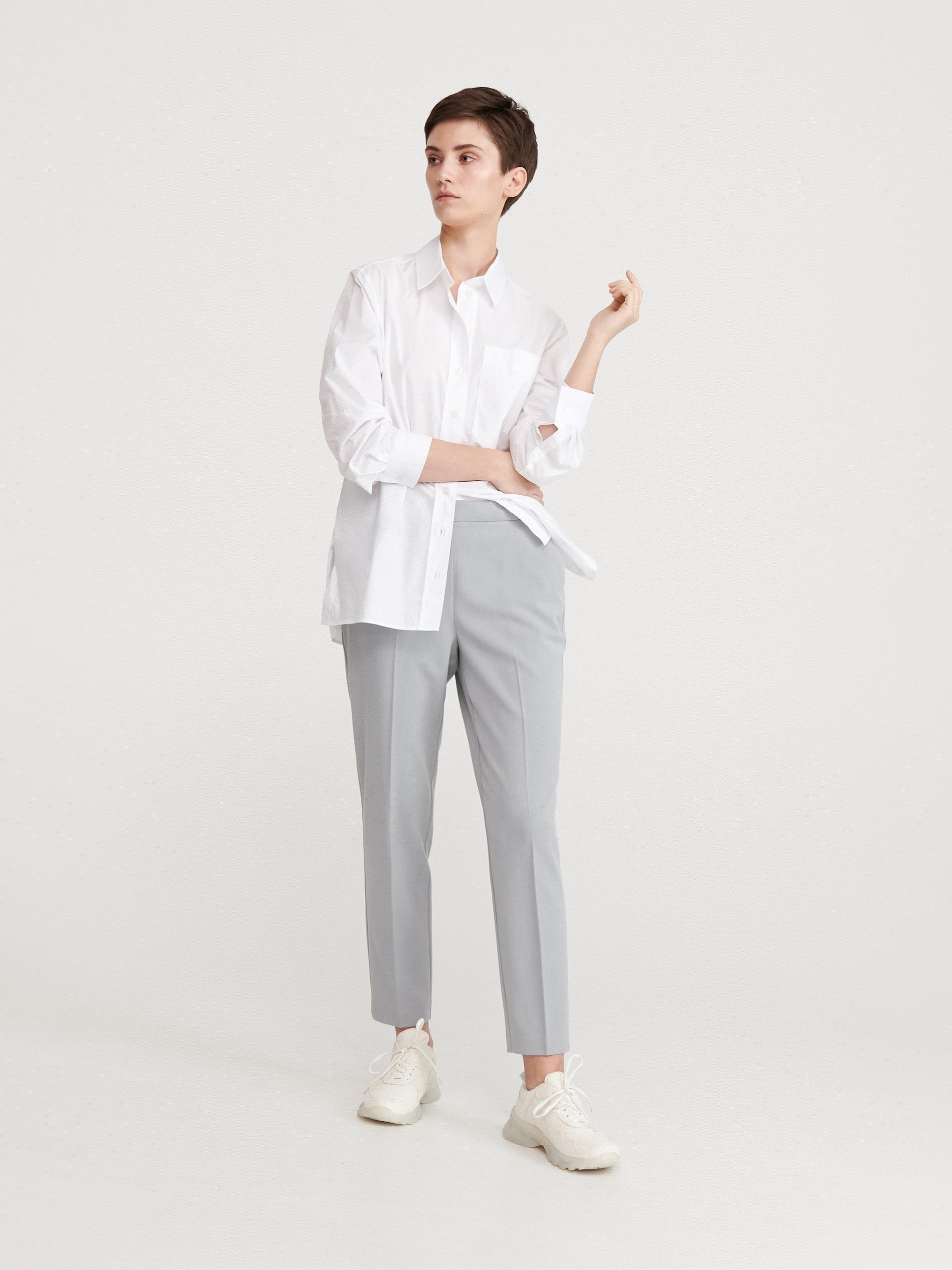Spodnie z kantem