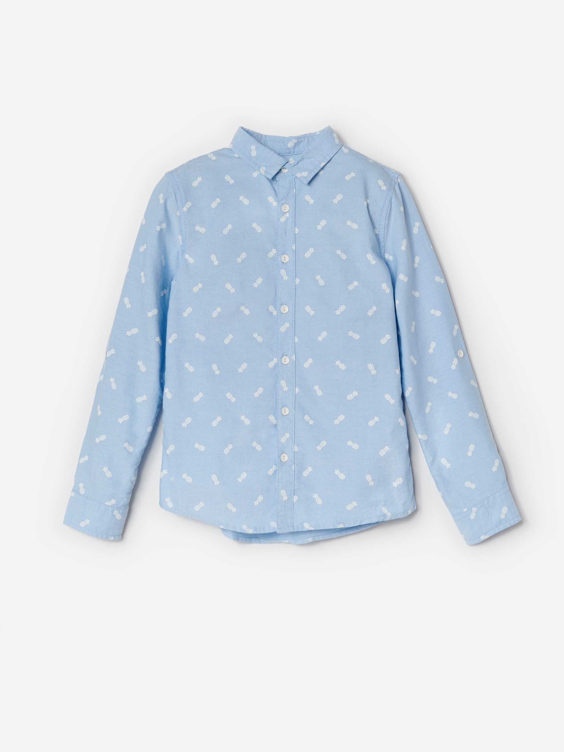 Bawełniana koszula ze wzorem