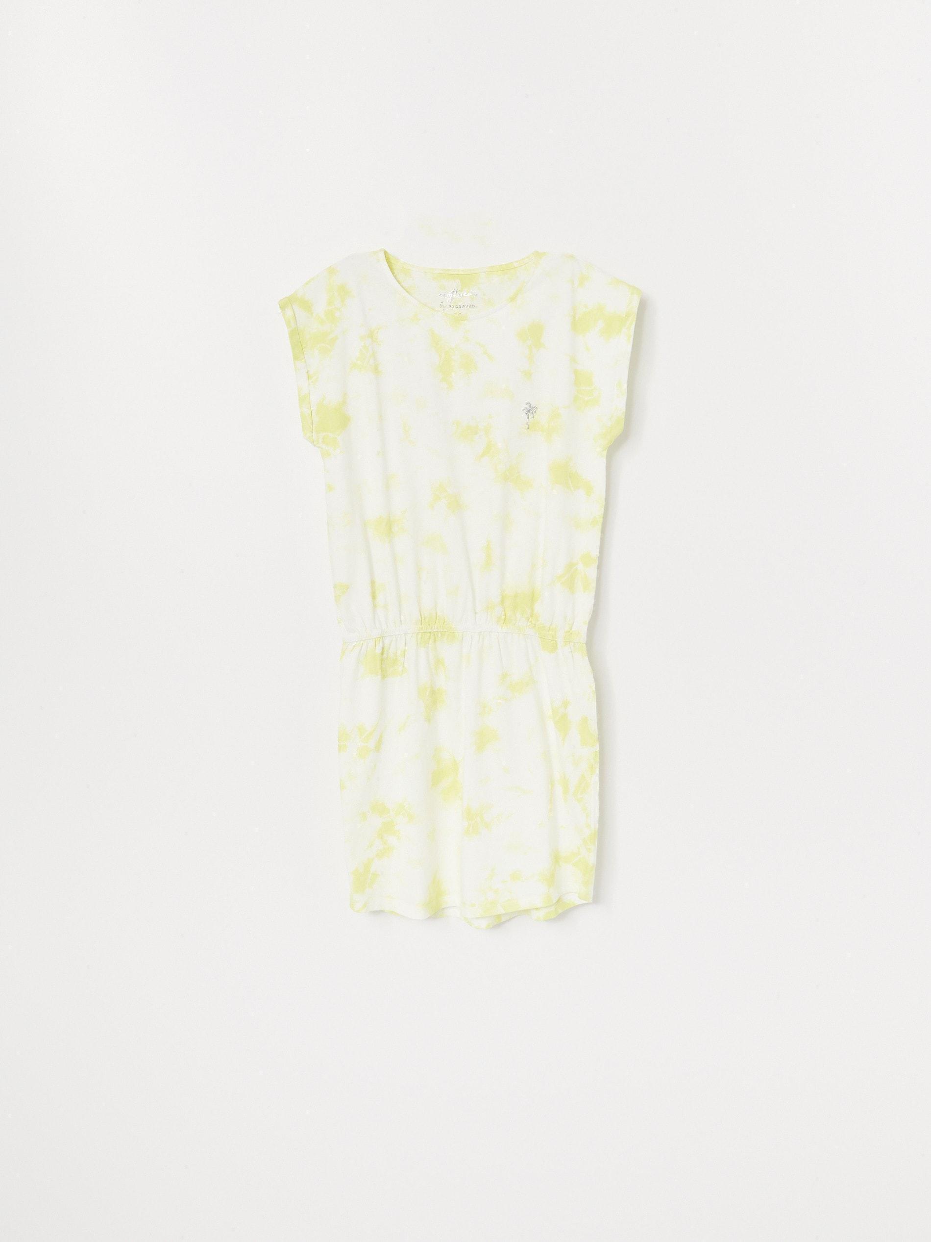 Koszula nocna z efektem tie-dye