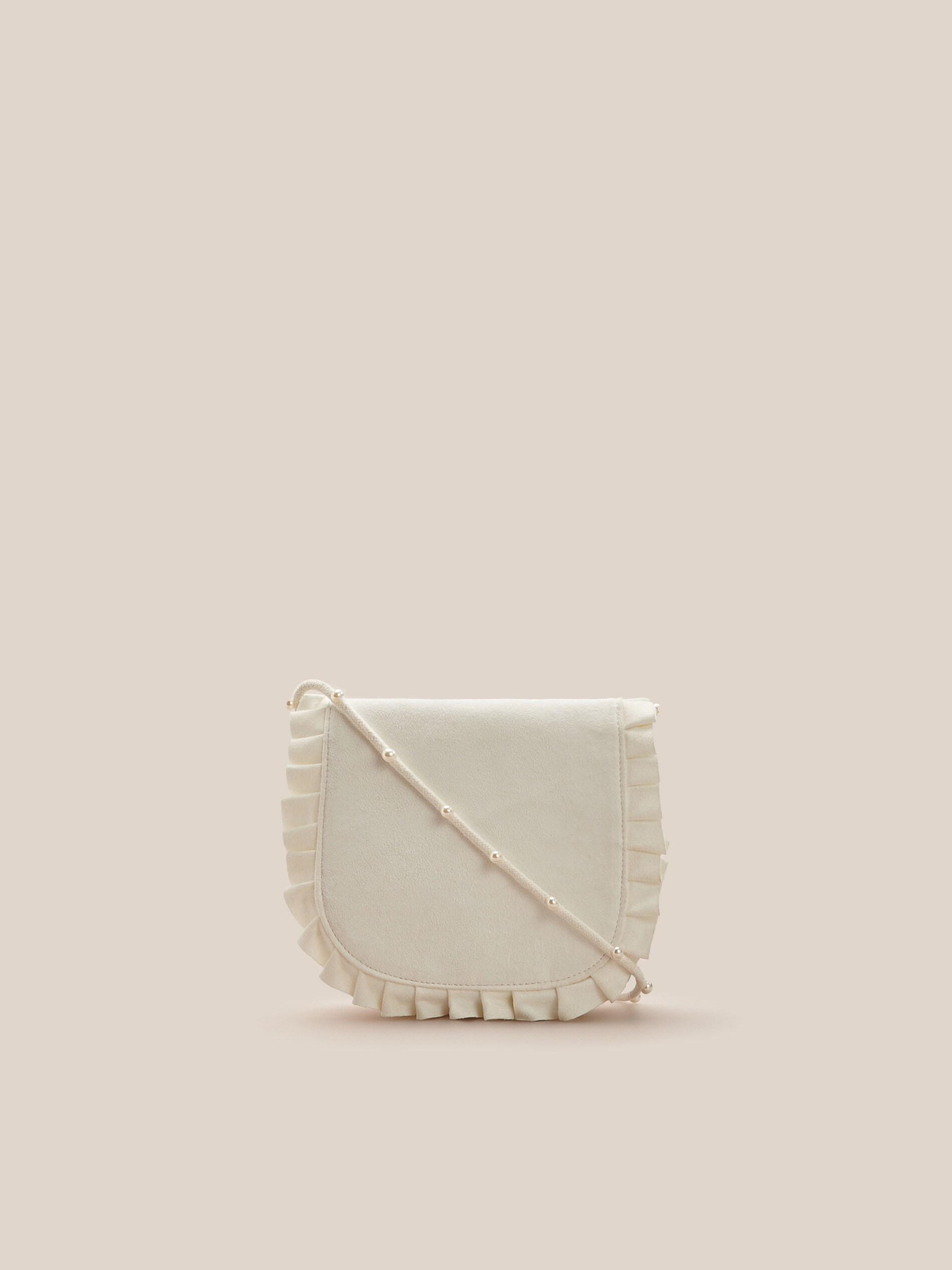 Mała torebka z imitacji zamszu