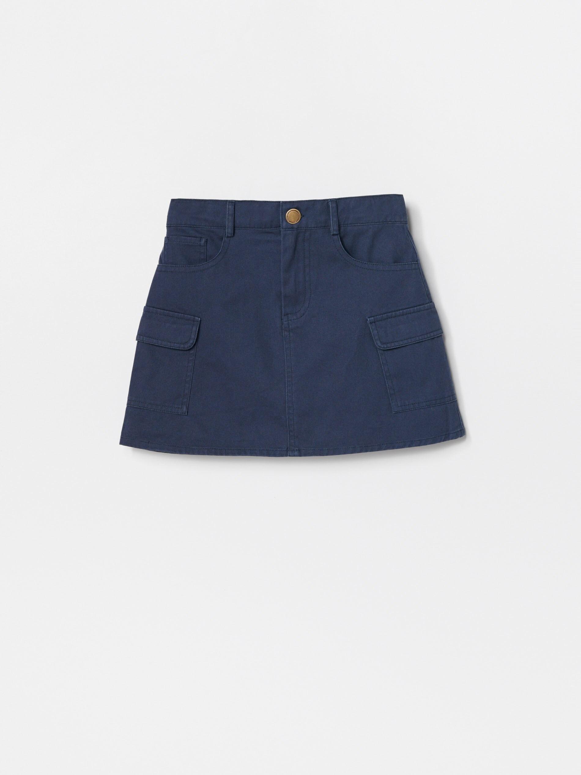 Bawełniana spódnica mini