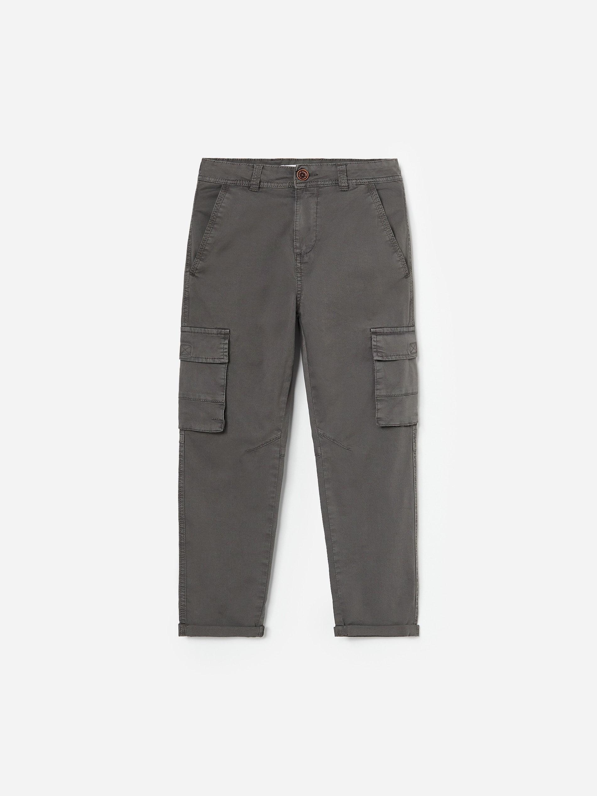Bawełniane spodnie cargo