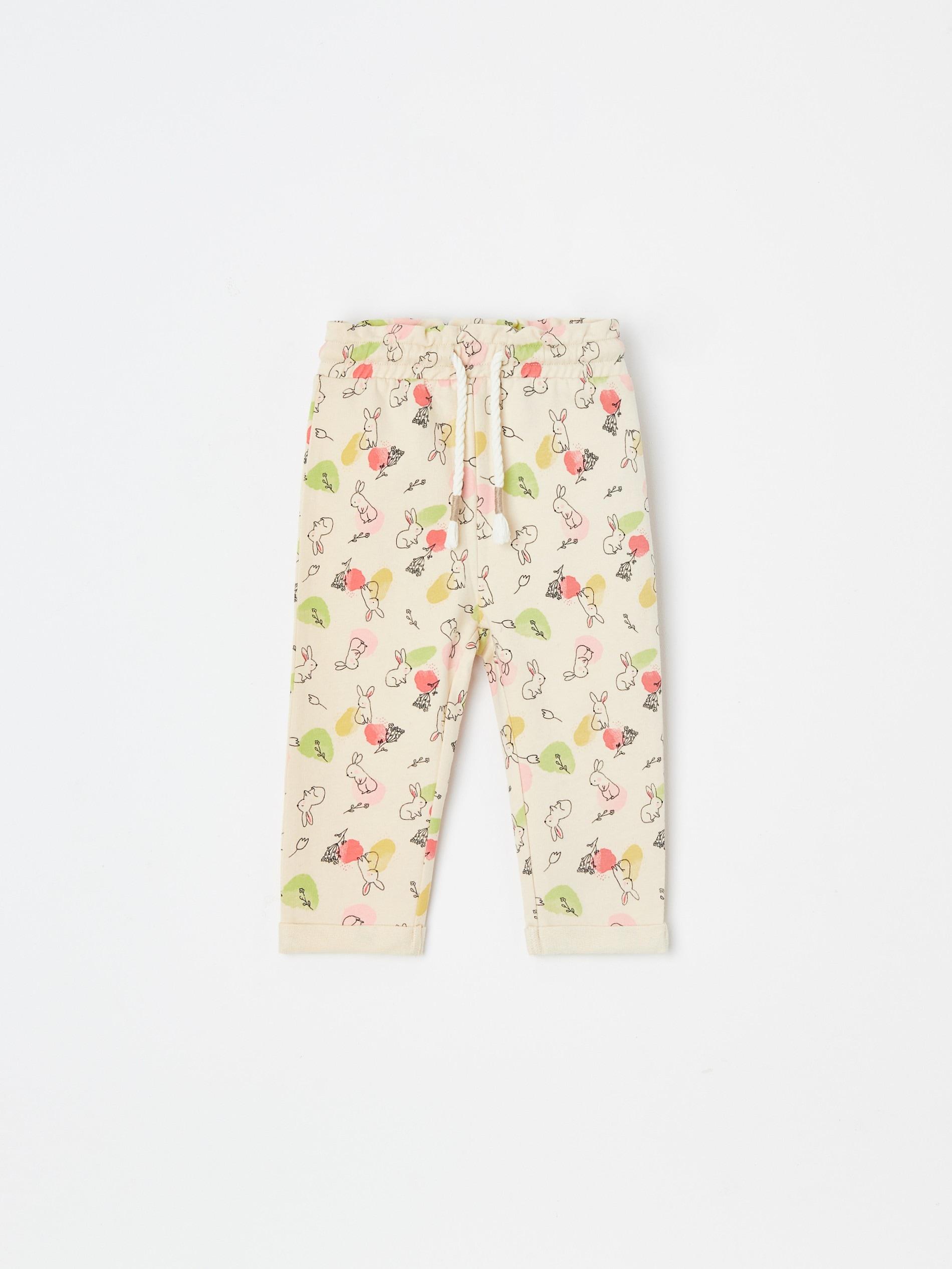 Spodnie dresowe ze wzorem