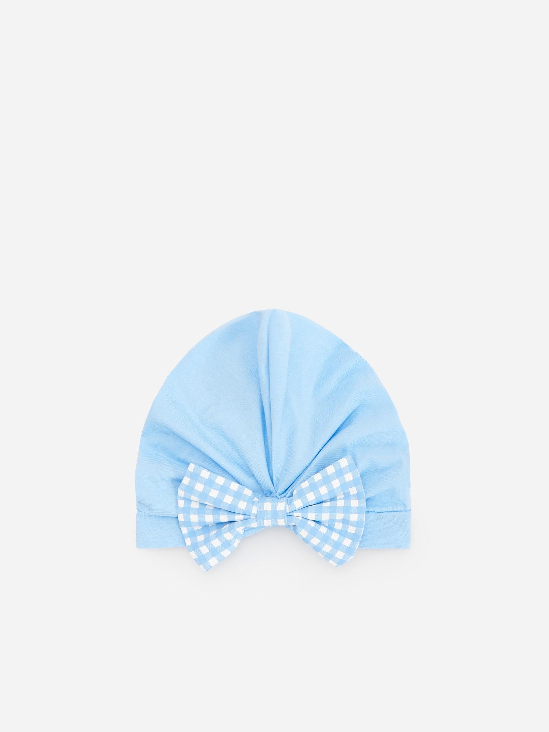 Bawełniana czapka z kokardką