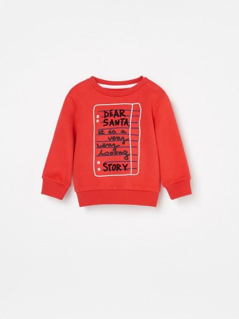 Świąteczna bluza z bawełny organicznej