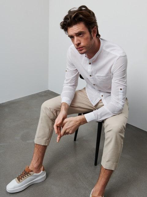 Koszula z bawełny organicznej