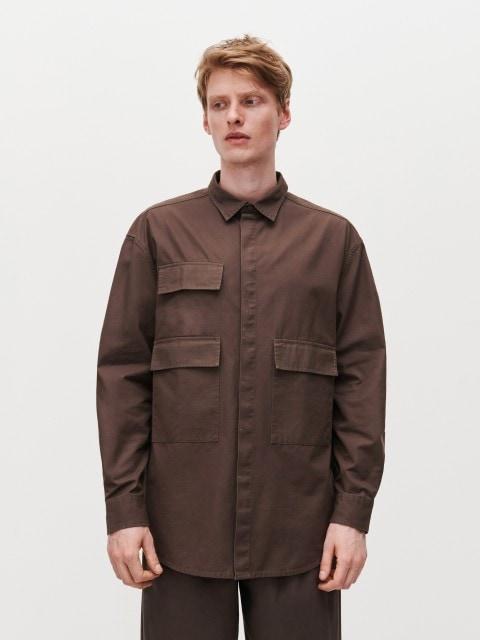Koszula z kieszeniami