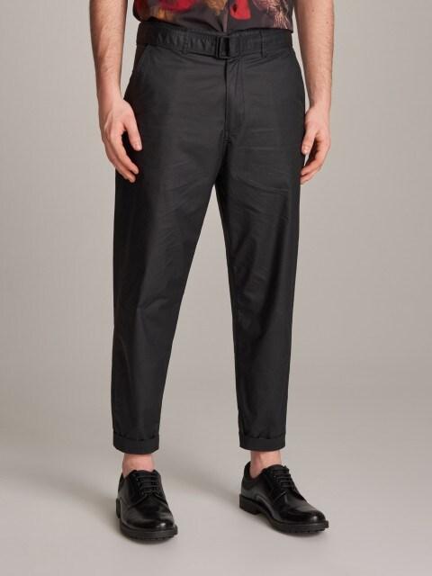 Pantaloni cu curea pentru bărbați