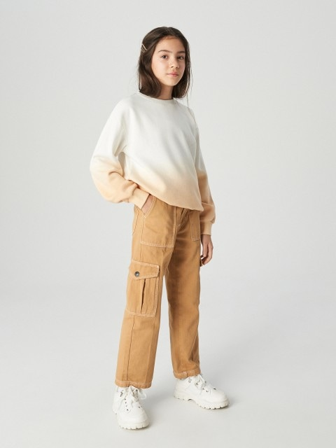 Pantaloni cargo din denim