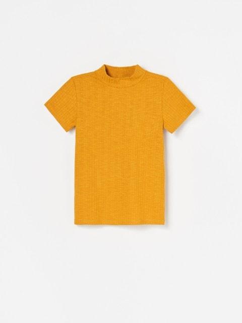 Bluză cu mânecă scurtă și guler Perkins