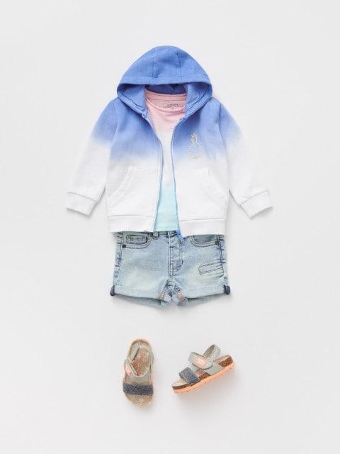 Bluză trening cu glugă