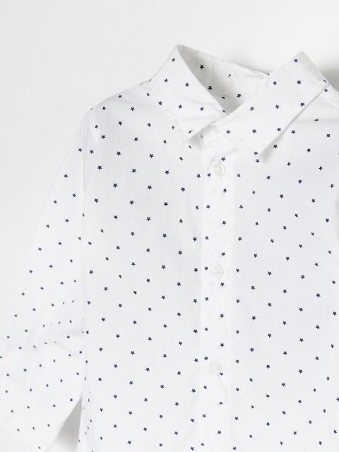 Хлопковая рубашка в звезды