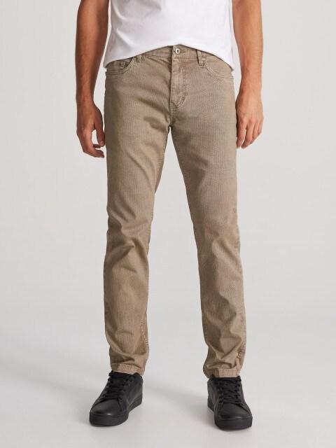 Хлопковые брюки slim