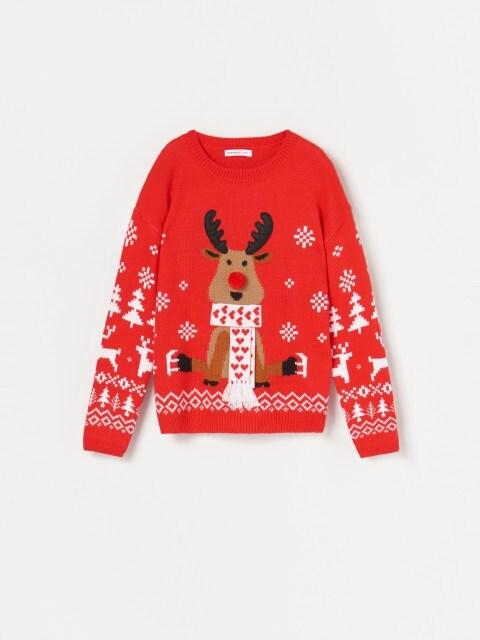 Джемпер с рождественским мотивом