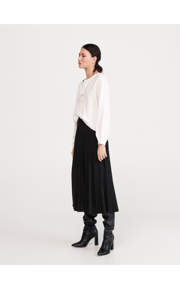 Плиссированная юбка, RESERVED, XV018-99X