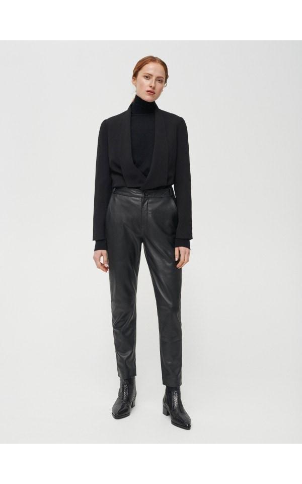 Кожаные брюки, RESERVED, XY477-99X