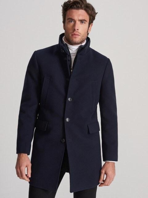 Пальто с отстегивающейся подкладкой