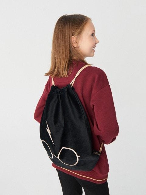 Рюкзак на шнурке с принтом Harry Potter