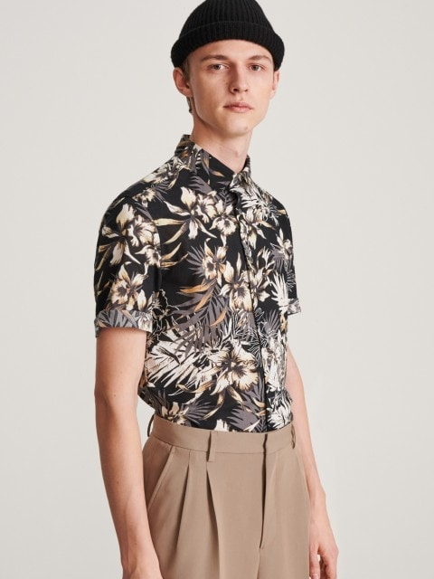 Рубашка с узором из органического хлопка