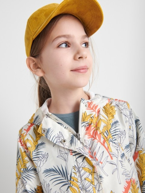 Girls` outer jacket