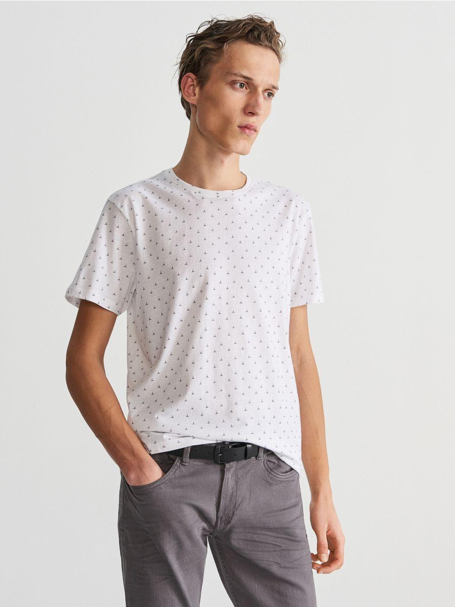 Tričko s mikropotlačou