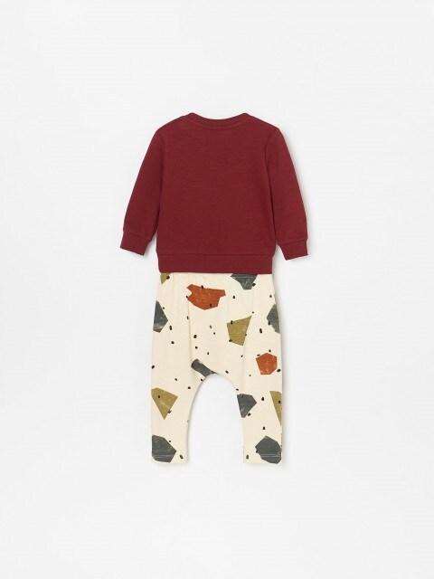 Úpletové pyžamo z organickej bavlny