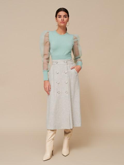 Vlnená sukňa