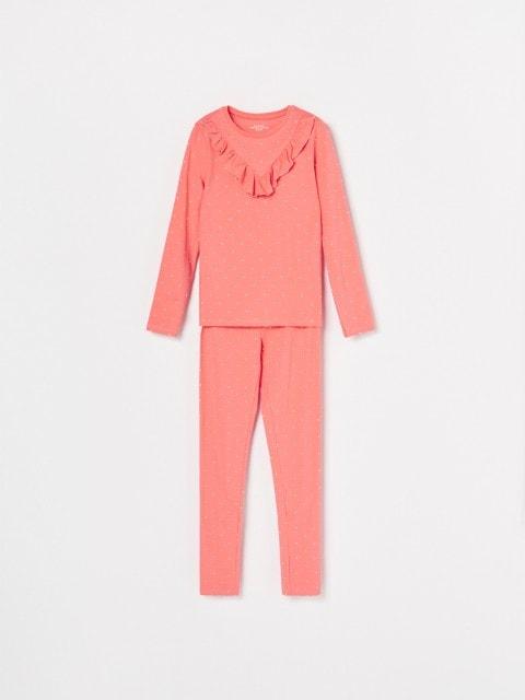 Bodkované pyžamo