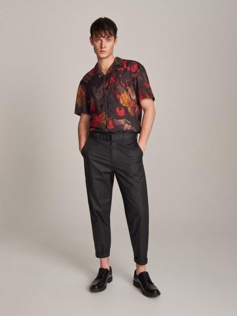 Pánske nohavice & opasok