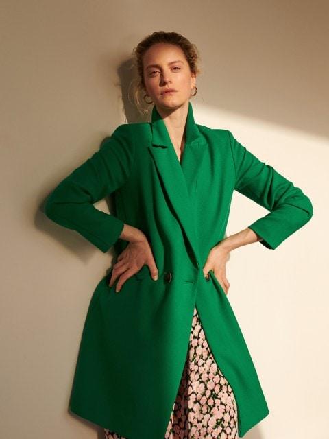 Dvojradový kabát