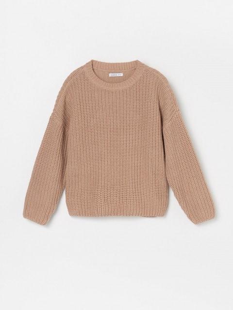 Широкий светр