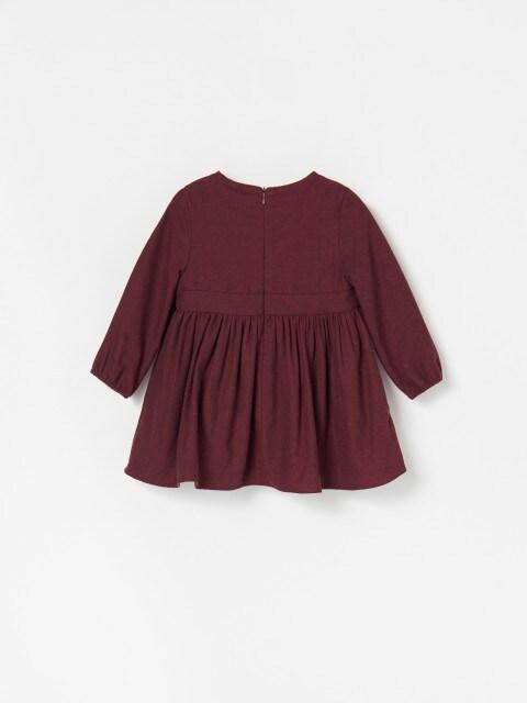 Сукня з довгим рукавом