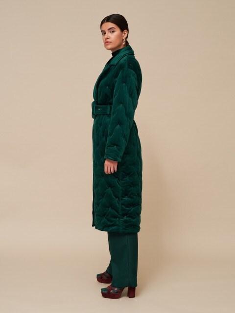 Велюрове пальто