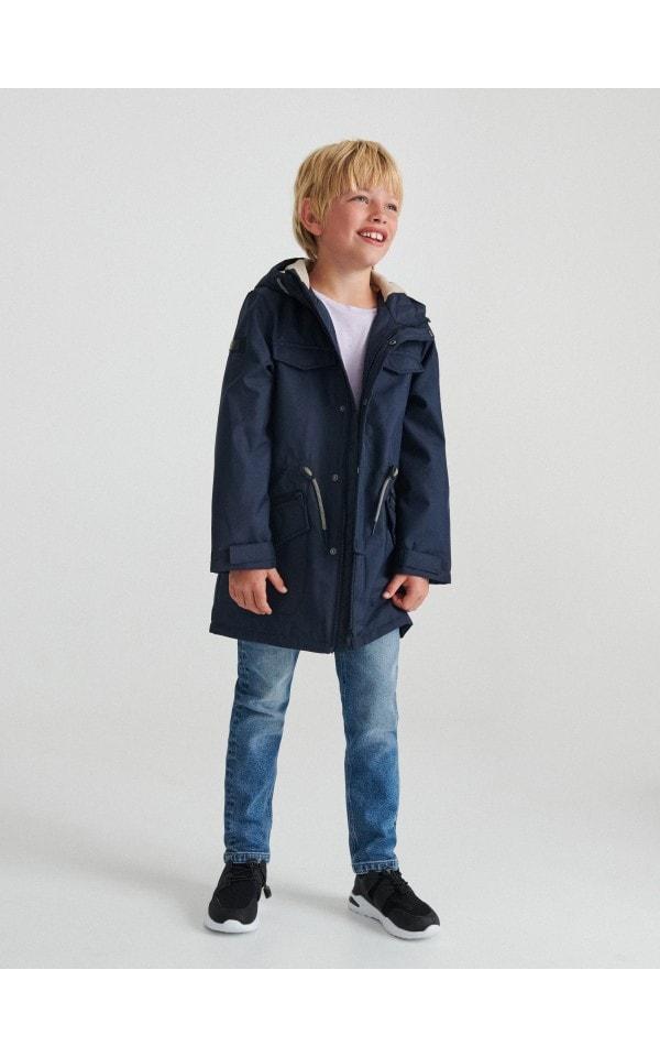 Водонепроникне пальто з каптуром, RESERVED, 0402D-59X