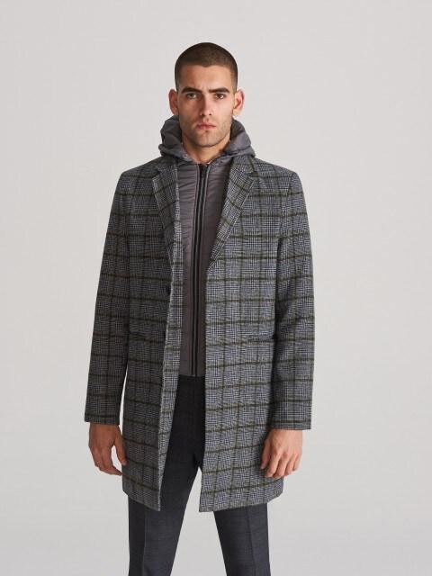 Пальто зі знімною підкладкою