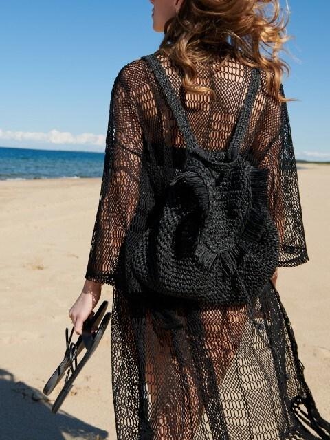 Плетений рюкзак